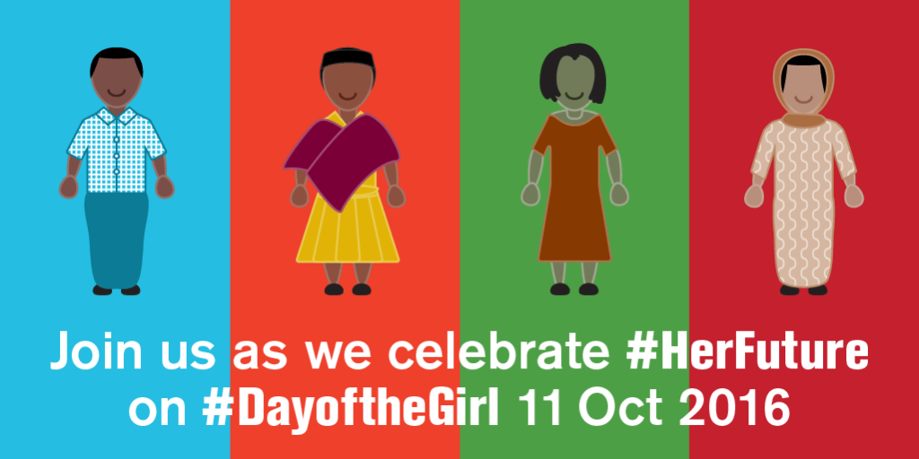 International Day of the Girl Child 2016 share graphic